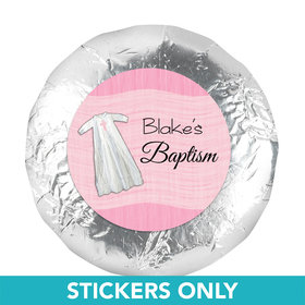 "Baptism 1.25"" Sticker Wrapped in Faith (48 Stickers)"