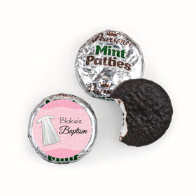 Baptism Personalized Pearson's Mint Patties Wrapped in Faith