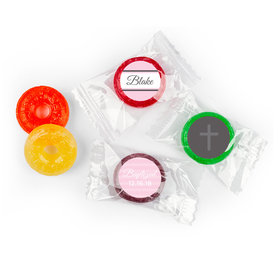 Baptism Personalized LifeSavers 5 Flavor Hard Candy & Cross (300 Pack)