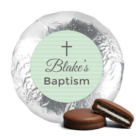 Baptism Chocolate Covered Oreos Cross (24 Pack)
