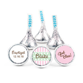 "Baptism 3/4"" Sticker Dots & Pinstripes (108 Stickers)"