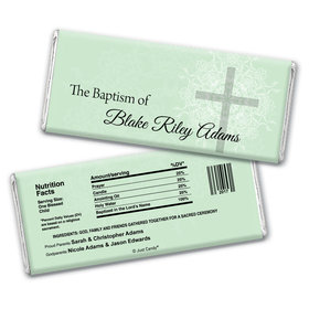 Baptism Personalized Chocolate Bar Wrappers Holy Cross