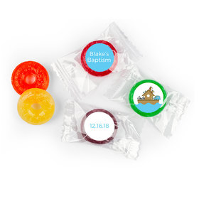 Baptism Personalized LifeSavers 5 Flavor Hard Candy Noah's Ark (300 Pack)