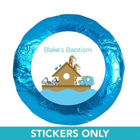 "Baptism 1.25"" Sticker Noah's Ark (48 Stickers)"