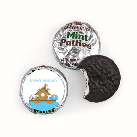 Baptism Personalized Pearson's Mint Patties Noah's Ark