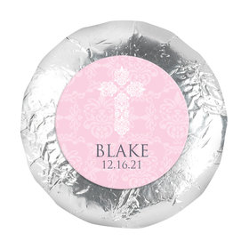 "Baptism 1.25"" Sticker Filigree Cross (48 Stickers)"