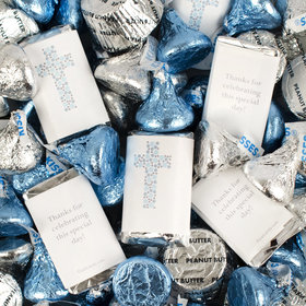 Boy Religious Hershey's Miniatures, Kisses and JC Peanut Butter Cups
