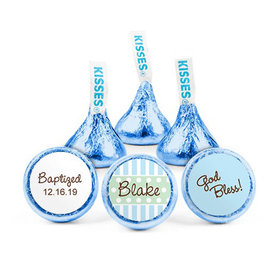 Personalized Baptism Polka Dots Hershey's Kisses (50 pack)