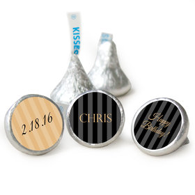 Personalized Formal 50th Birthday Hershey's Kisses