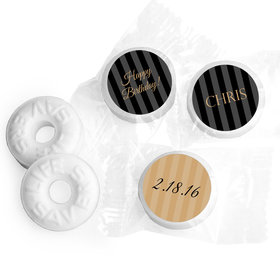 Personalized Formal 50th Birthday Mints