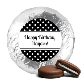 Birthday Chocolate Covered Oreos Polka Dot (24 Pack)