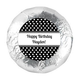 "Birthday 1.25"" Sticker Polka Dot (48 Stickers)"