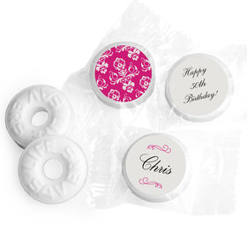 Birthday Personalized Life Savers Mints Baroque Pattern (300 Pack)