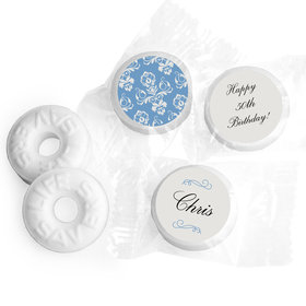 Birthday Personalized Life Savers Mints Baroque Pattern