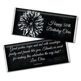 Birthday Personalized Chocolate Bar Mum and Age