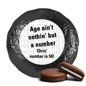 50th Birthday Chocolate Covered Oreos Over the Hill (24 Pack)