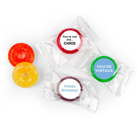 Birthday Personalized Life Savers 5 Flavor Hard Candy You're Vintage