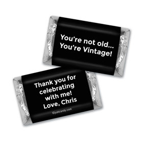 Birthday Personalized Hershey's Miniatures You're Vintage