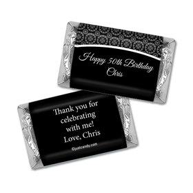 Birthday Personalized Hershey's Miniatures Wrappers Patterned