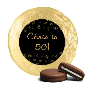 Birthday Golden Oldie Milk Chocolate Covered Oreo Cookies (24 Pack)
