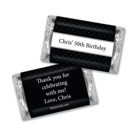 Birthday Personalized Hershey's Miniatures Dotted Criss Cross