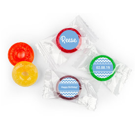 Birthday Stickers ZigZag Personalized LifeSavers 5 Flavor Hard Candy