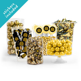 100th Birthday Gold Candy Buffet