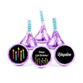 Personalized Birthday Candles Hershey's Kisses (50 pack)
