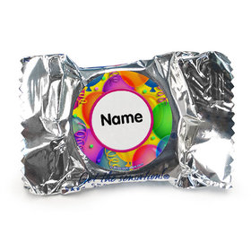 Balloon Bash Personalized York Peppermint Patties (84 Pack)