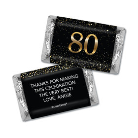Personalized Birthday Hershey's Miniatures Elegant Birthday Bash 80