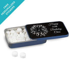 Birthday Personalized Mint Tin Mum and Age (12 Pack)