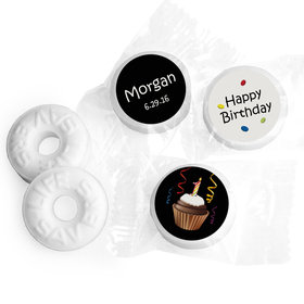 Birthday Personalized Life Savers Mints Cupcake 1st (300 Pack)