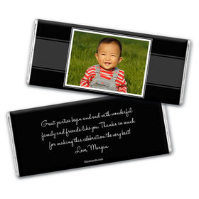 Birthday Personalized Chocolate Bar Wrappers Photo