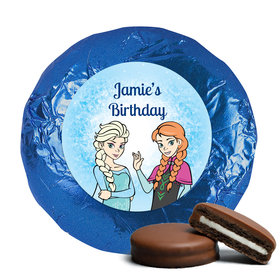 Birthday Chocolate Covered Oreos Disney Style Frozen Theme (24 Pack)