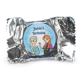 Birthday Personalized York Peppermint Patties Disney Style Frozen Theme (84 Pack)
