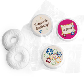 Birthday Personalized Life Savers Mints Tropical Hawaiian Luau Party (300 Pack)