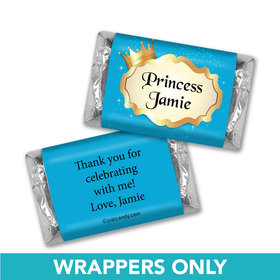Birthday Personalized Hershey's Miniatures Wrappers Storybook Princess