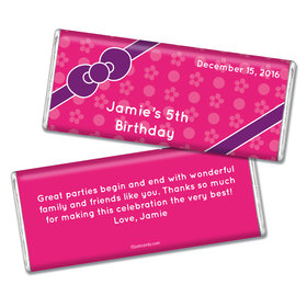Birthday Personalized Chocolate Bar Hello Kitty