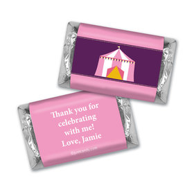 Birthday Personalized Hershey's Miniatures Circus Party