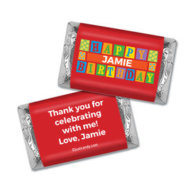 Birthday Personalized Hershey's Miniatures Wrappers Sesame Street