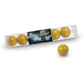 Birthday Personalized Gumball Tube Harry Potter Wizzardly Wishes (12 Pack)