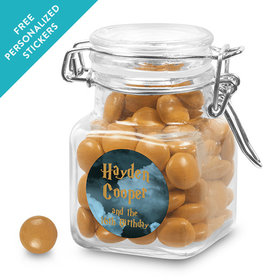 Birthday Personalized Latch Jar Harry Potter Wizzardly Wishes (12 Pack)