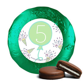 Personalized Birthday Party Time Chocolate Covered Oreos (24 Pack)