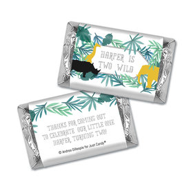 Personalized Birthday Wandering Wild Things Hershey's Miniatures Wrappers