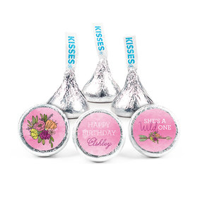 Personalized Birthday She's a Wild One Hershey's Kisses (50 pack)