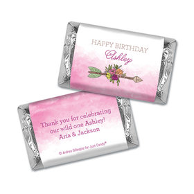 Personalized Birthday She's a Wild One Hershey's Miniatures