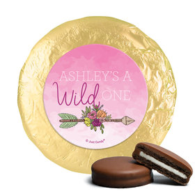Personalized Birthday She's a Wild One Chocolate Covered Oreos (24 Pack)