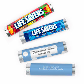 Personalized Quinceanera Luneres Lifesavers Rolls (20 Rolls)