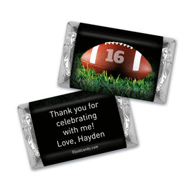 Birthday Personalized Hershey's Miniatures Football Touchdown