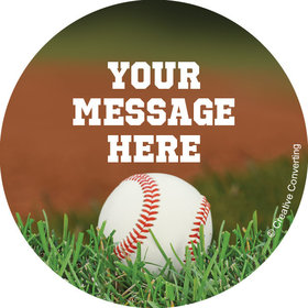 "Baseball Personalized 2"" Stickers (20 Stickers)"